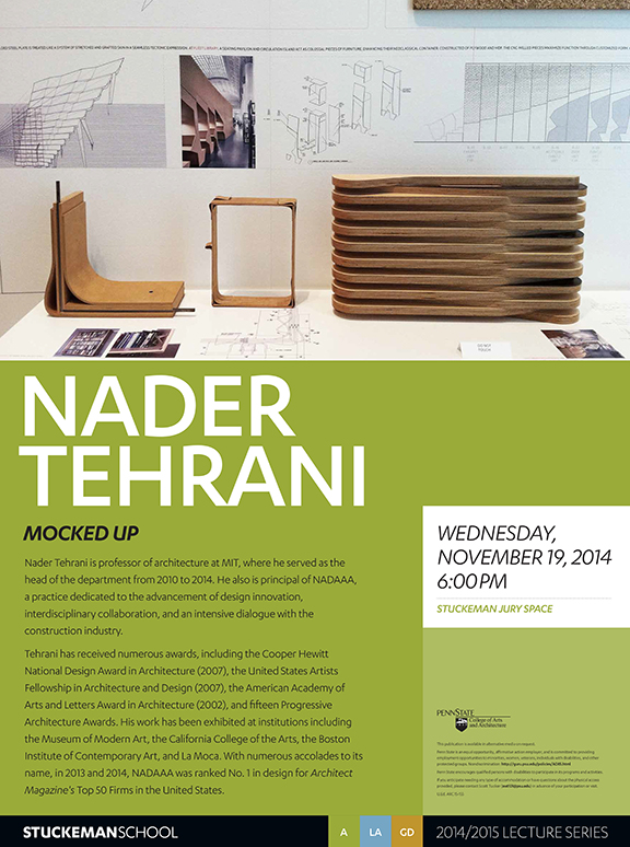 LecturePoster-NaderTehrani-updated