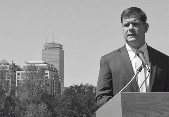 Mayor Marty Walsh  Photo from Bostoninno