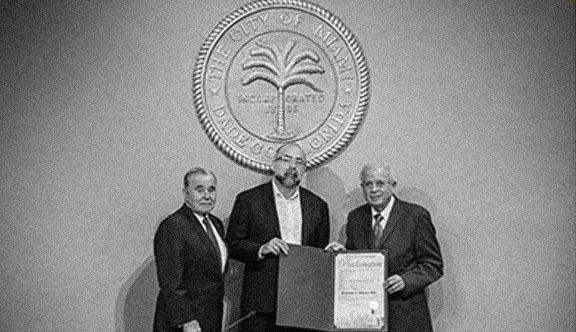 "City of Miami Proclamation ""Rodolphe el-Khoury Day"""