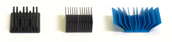 Pin_fin,_straight_fin_and_flared_heat_sinks