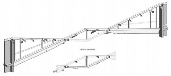 Structural_Revit_cantilever-truss